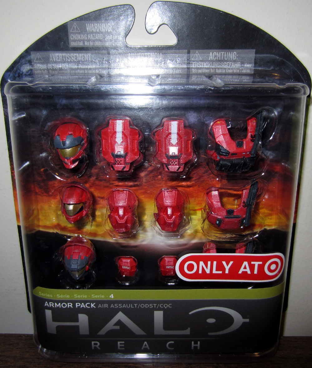 Air Assault Armor Pack (Halo Reach 4, red, Target Exclusive)