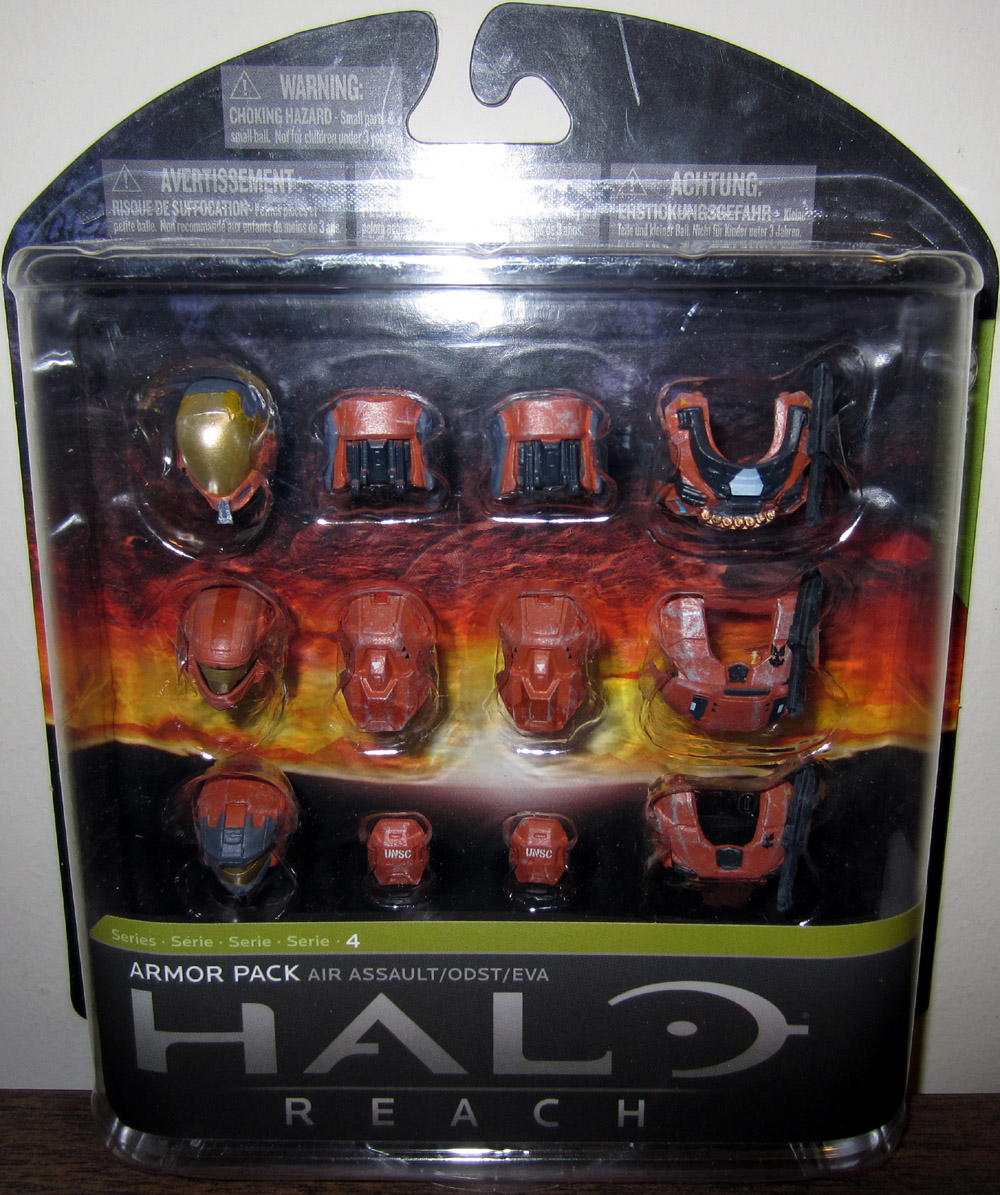 Air Assault Armor Pack, rust (Toys R Us Exclusive)