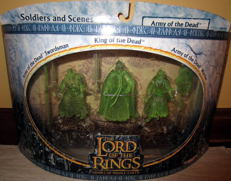 Lord Of The Rings Army Of The Dead Figures