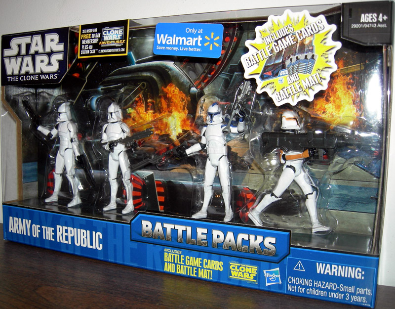 Army of the Republic 4-Pack (Battle Packs)