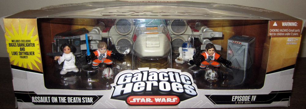 Assault on the Death Star 5-Pack (Galactic Heroes)