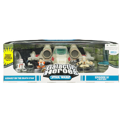 Assault on the Death Star II 4-Pack (Galactic Heroes)