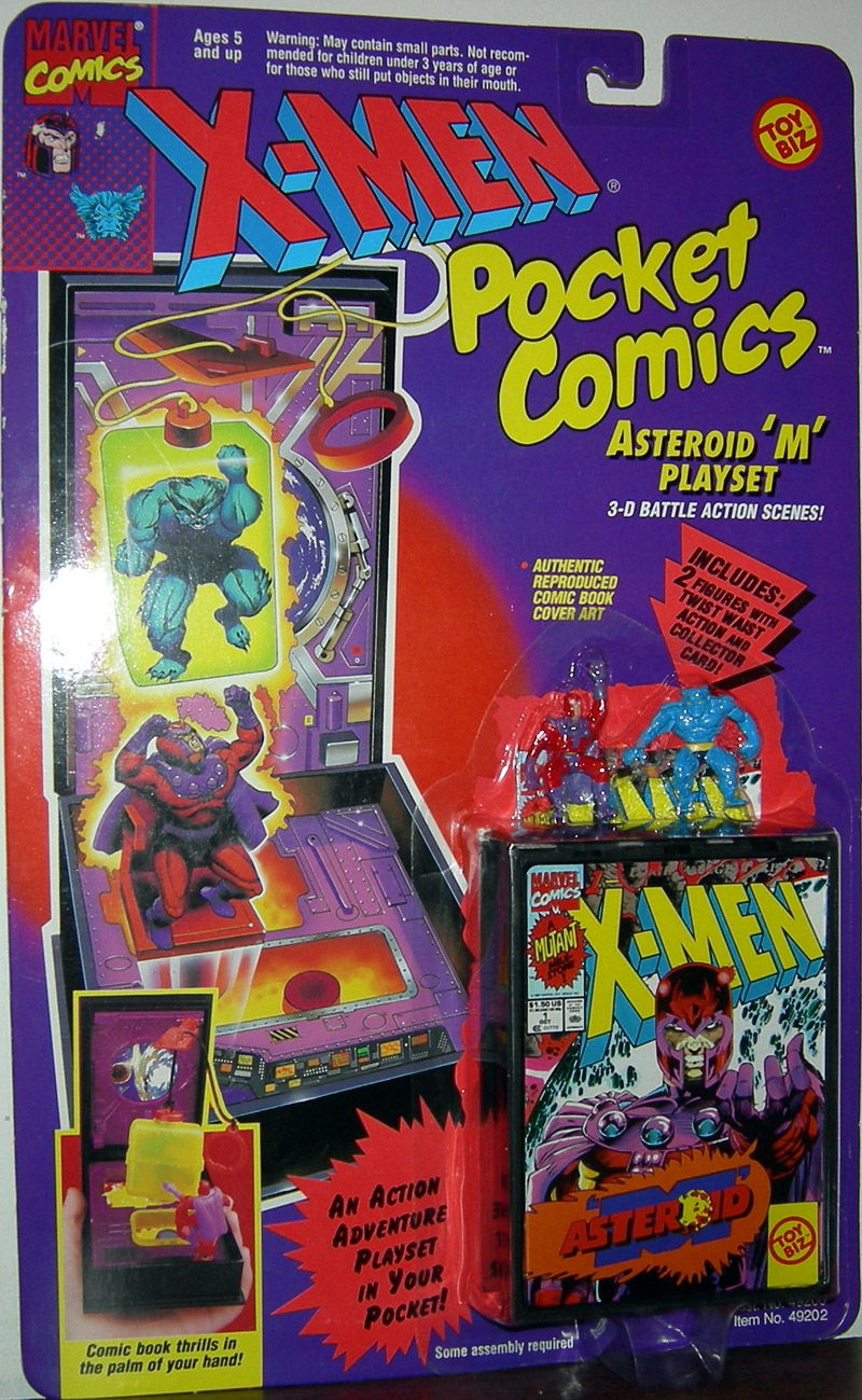 Asteroid M Playset (Pocket Comics)