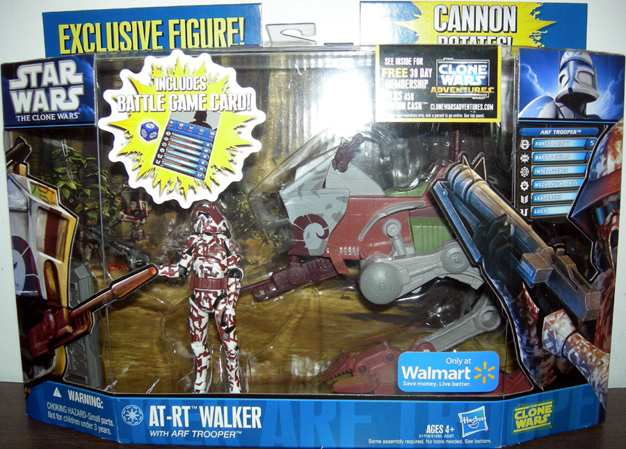 AT-RT Walker with ARF Trooper (Walmart Exclusive)