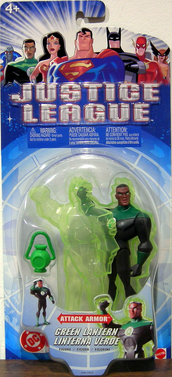 Green Lantern (Justice League Attack Armor)