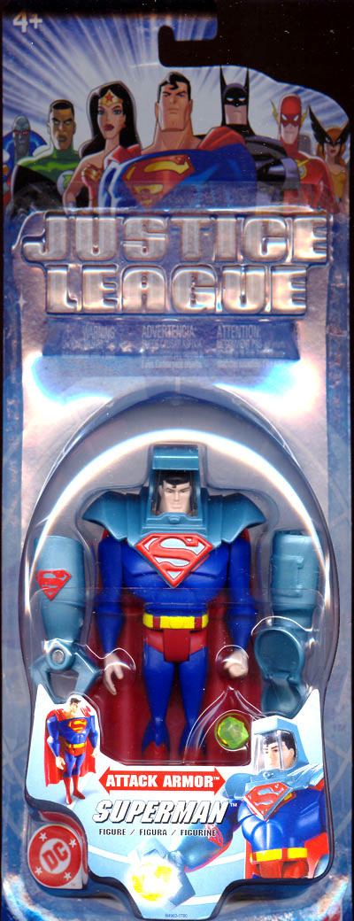 Superman (Justice League Attack Armor)