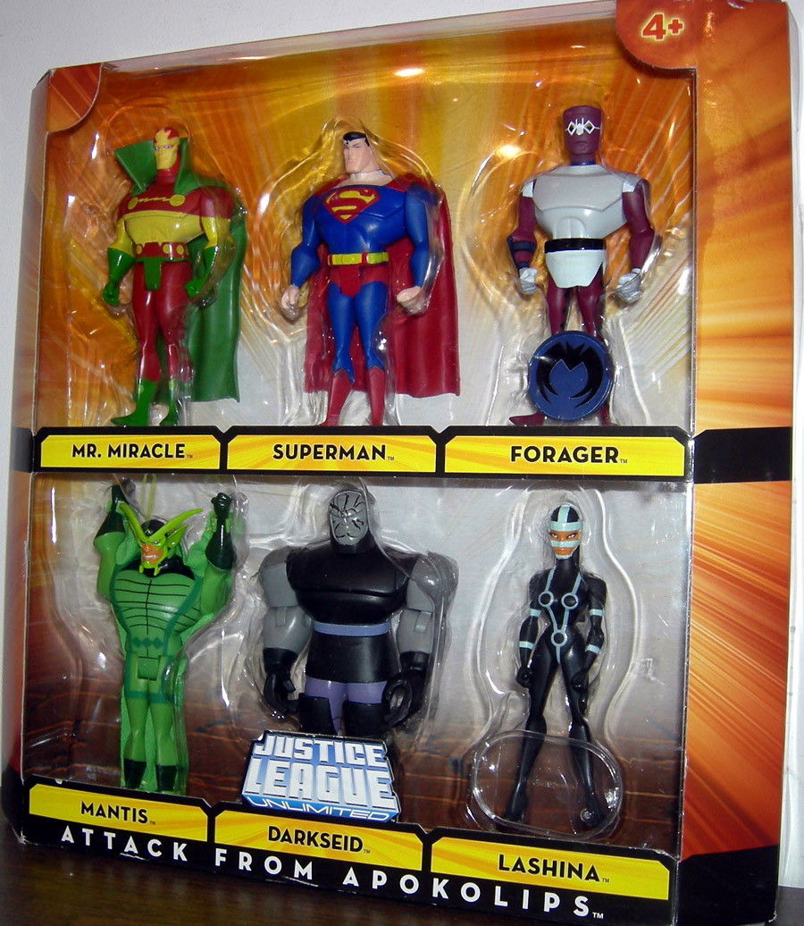 Attack From Apolkolips 6-Pack (DC Universe)