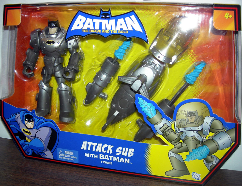 Attack Sub with Batman