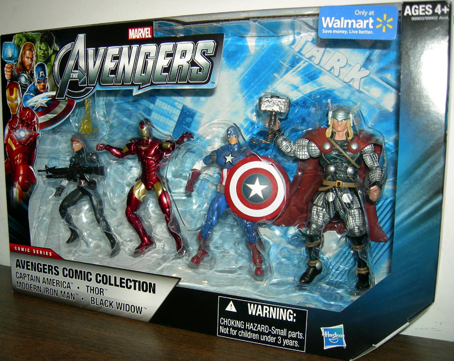 Avengers Comic Collection 4-Pack (01, Walmart Exclusive)