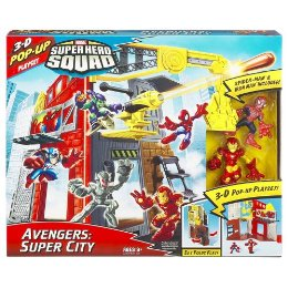 Avengers - Super City (Super Hero Squad)