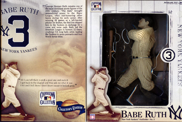 Cooperstown Collector's Edition Babe Ruth