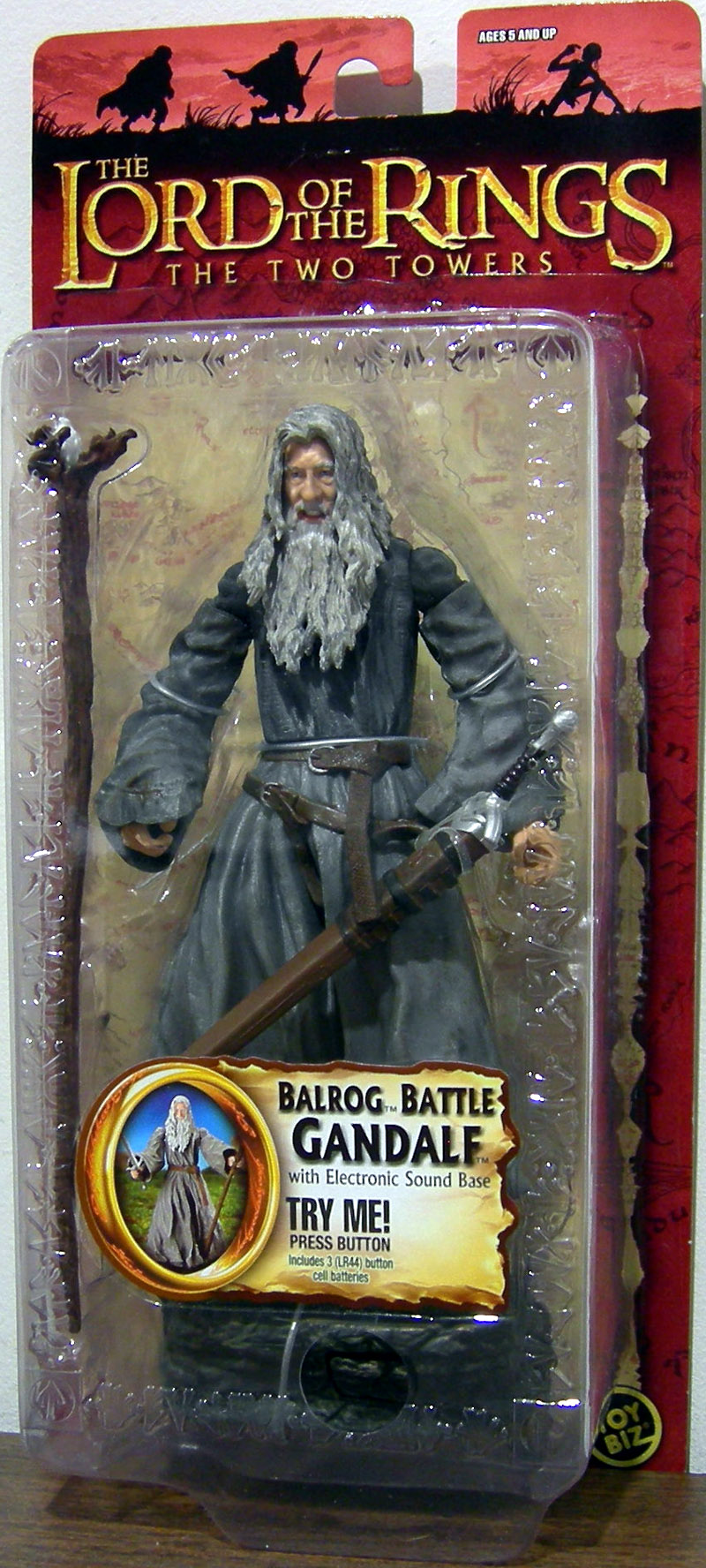 Balrog Battle Gandalf (Trilogy)