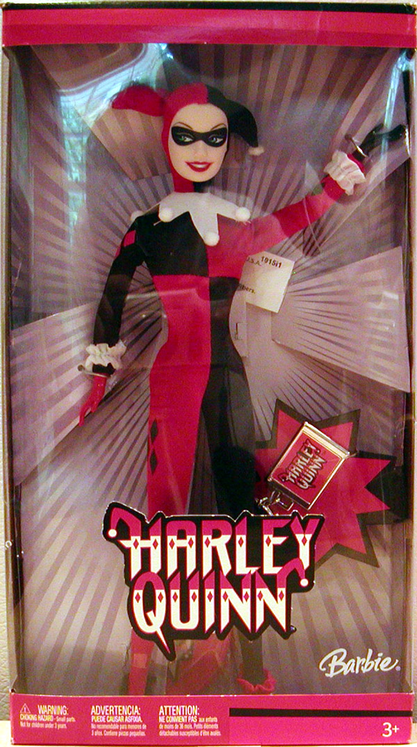Barbie as Harley Quinn