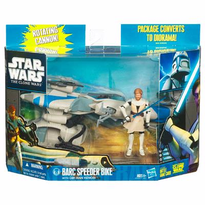 BARC Speeder Bike with Obi-Wan Kenobi