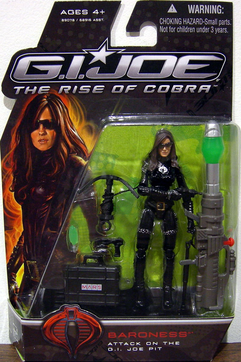 Baroness Attack on the G.I. Joe Pit (The Rise of Cobra)