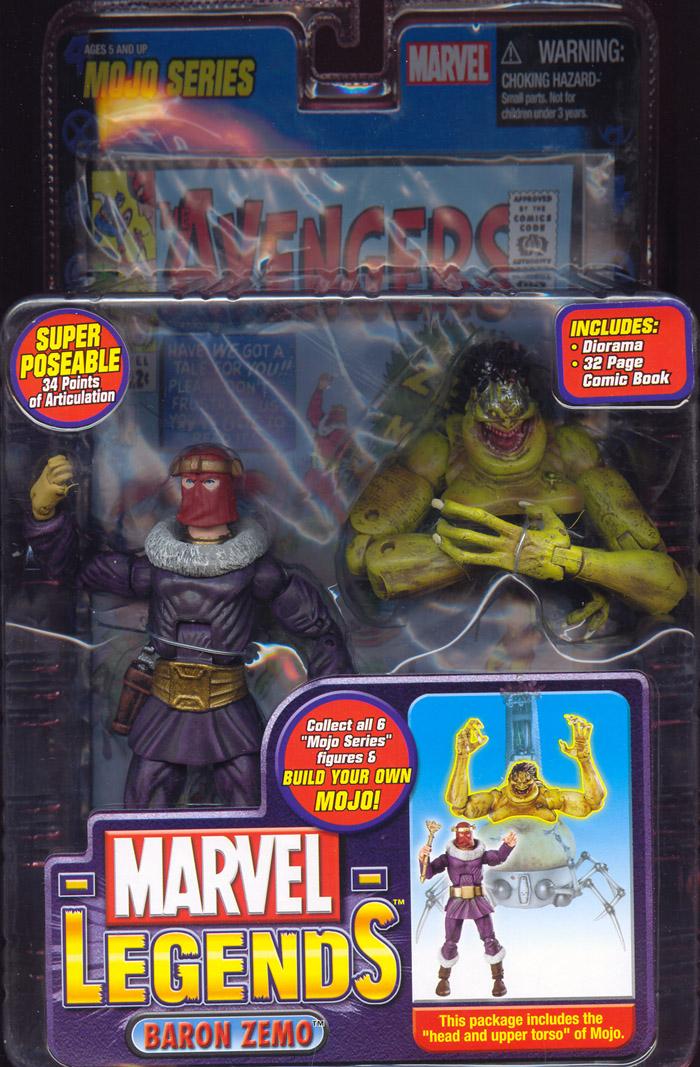 Marvel Legends Baron Zemo Mojo