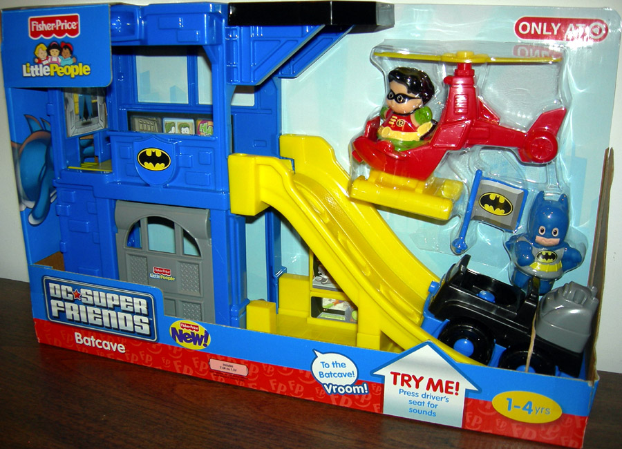 Little People DC Super Friends Batcave (Target Exclusive)