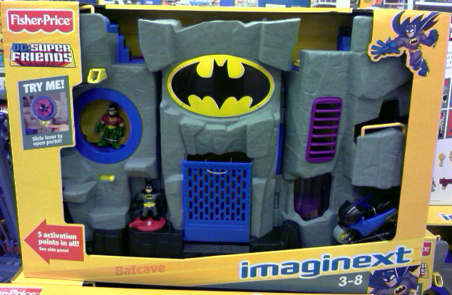 Batcave (DC Super Friends Imaginext)
