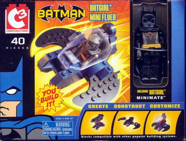 Batgirl Mini Flyer (C3 Minimate)