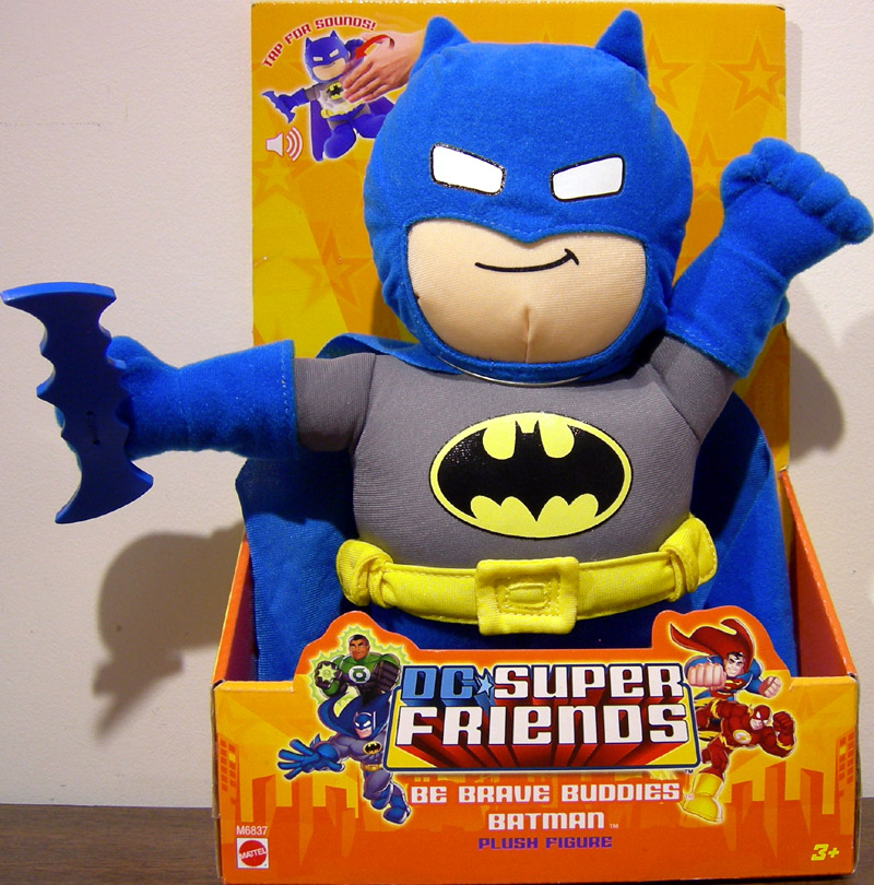 Batman plush figure (Be Brave Buddies)