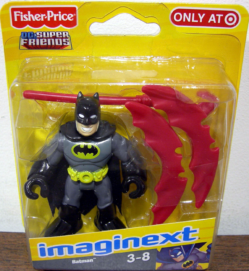 Batman (Imaginext, black & gray suit)