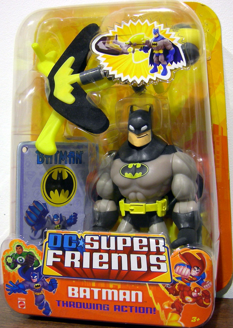 Batman (DC Super Friends, black & grey)