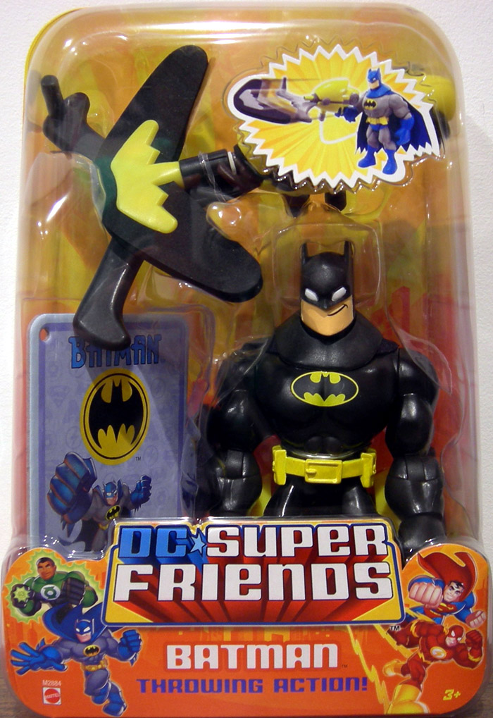 Batman (DC Super Friends, black on black)