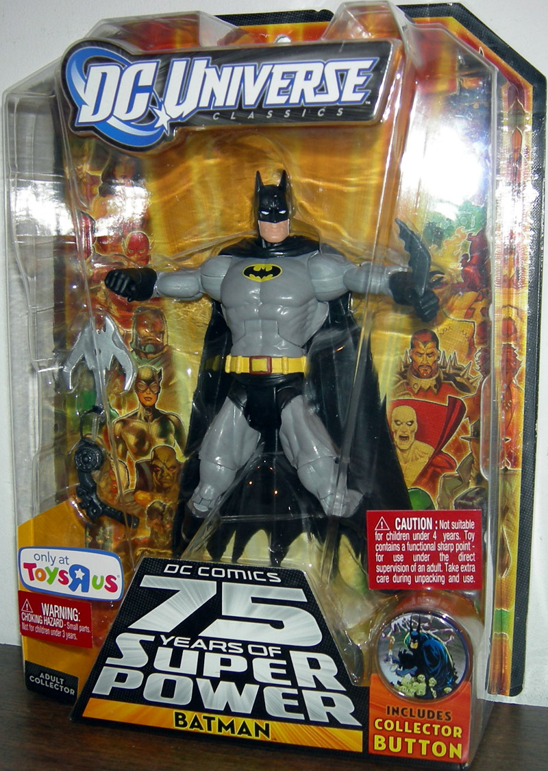 Batman (DC Universe, All Star, with yellow & black Bat logo on chest)
