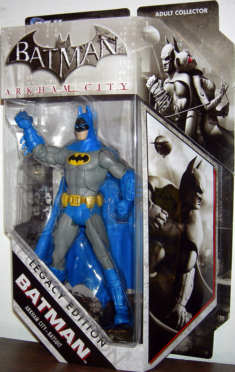 Batman Arkham City - Batsuit (DC Universe, Legacy Edition)
