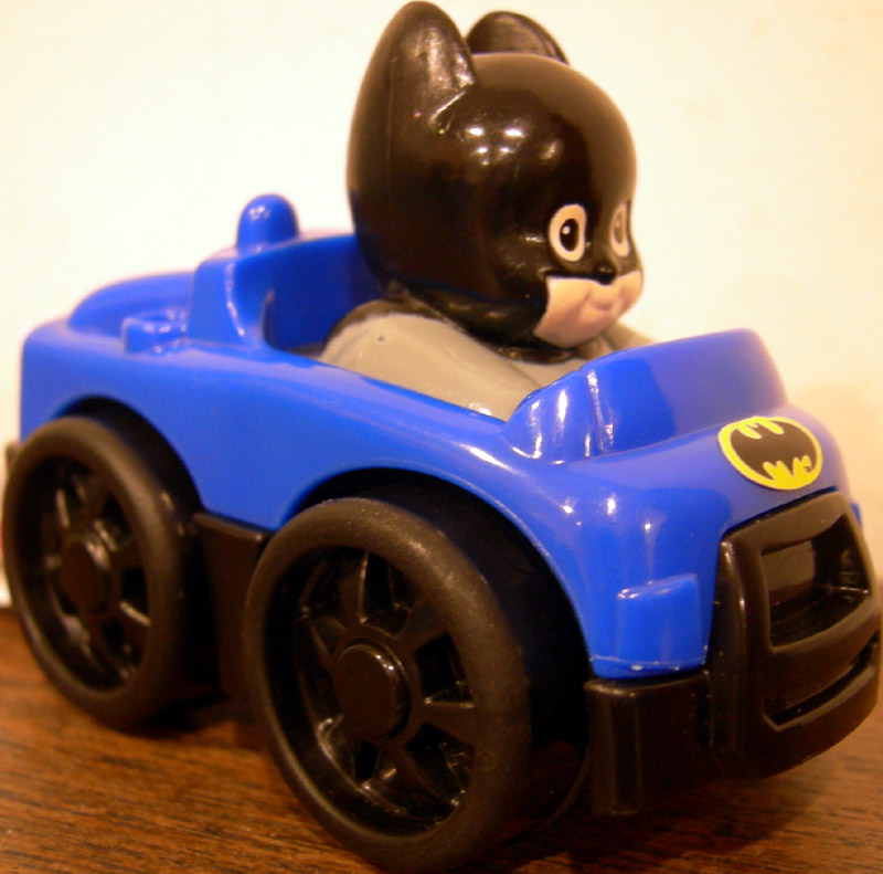Little People DC Super Friends Wheelies Batman (Target Exclusive)