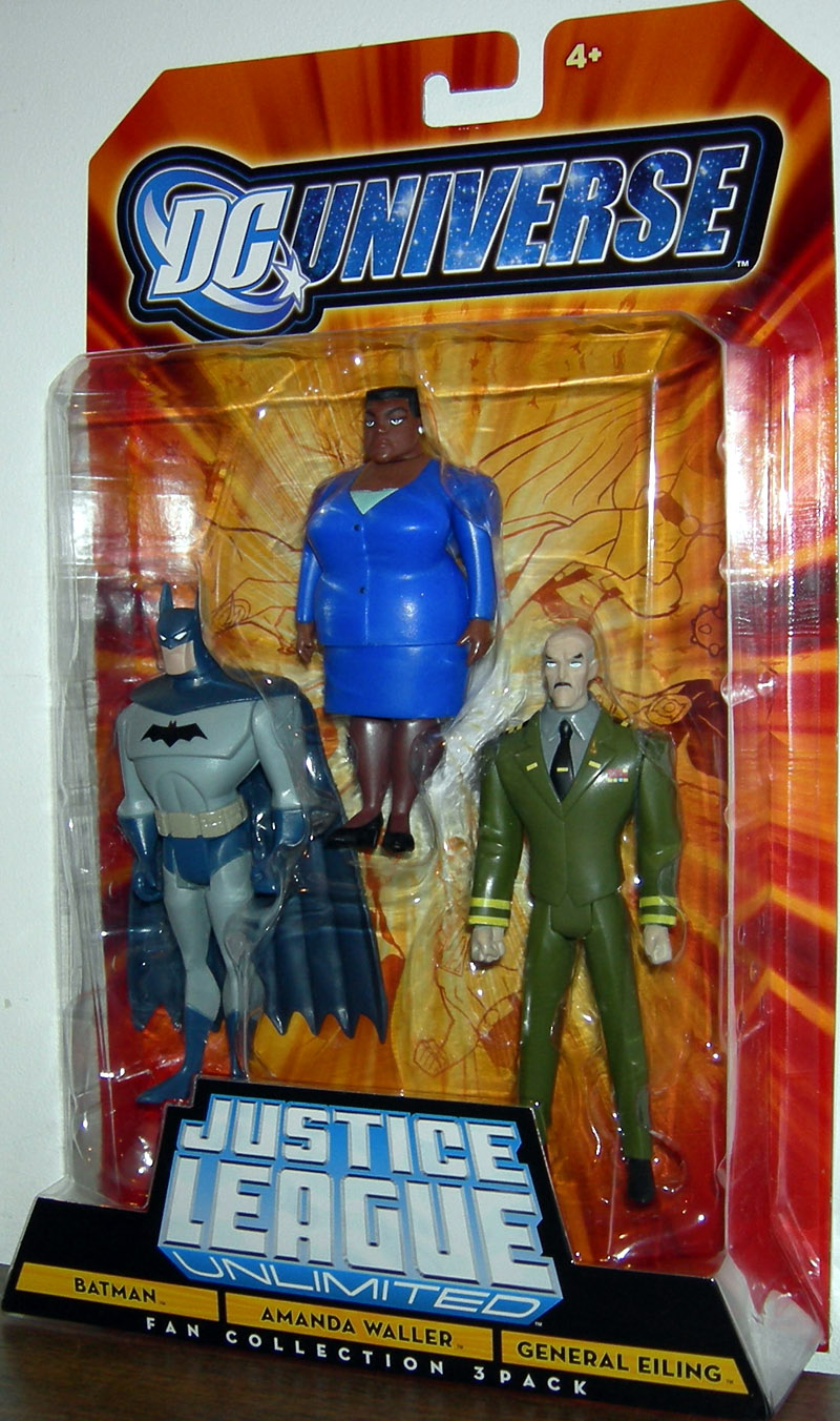 Batman, Amanda Waller & General Eiling 3-Pack
