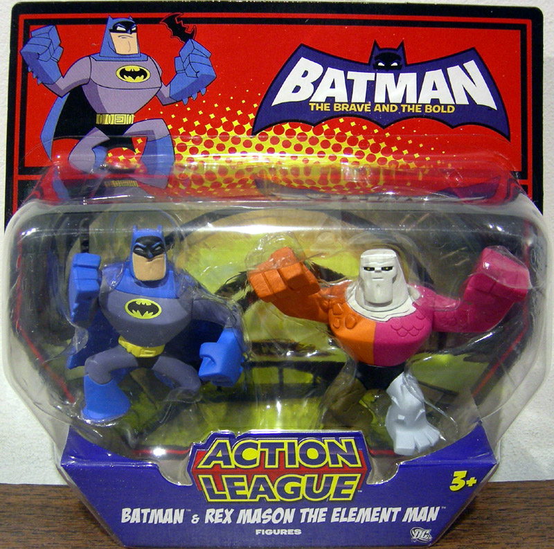 Batman & Rex Mason The Element Man (Action League)