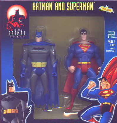 Batman and Superman, boxed (The New Batman Adventures)