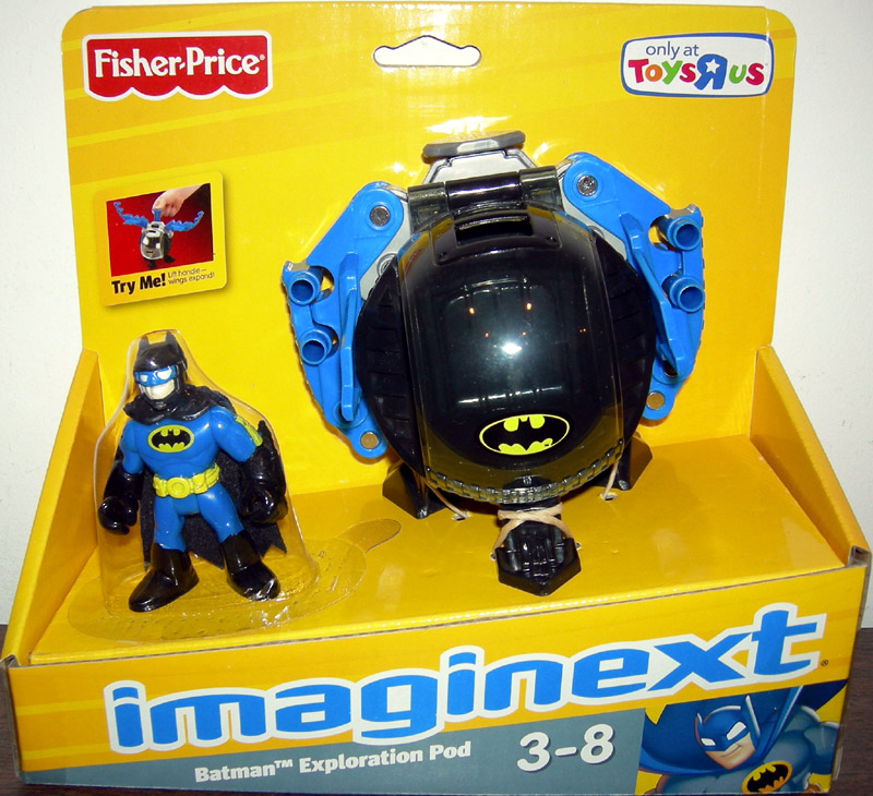 Batman Exploration Pod (Imaginext, Toys R Us exclusive)