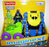 Batman Robot & The Riddler Rover (Imaginext, Toys R Us Exclusive)
