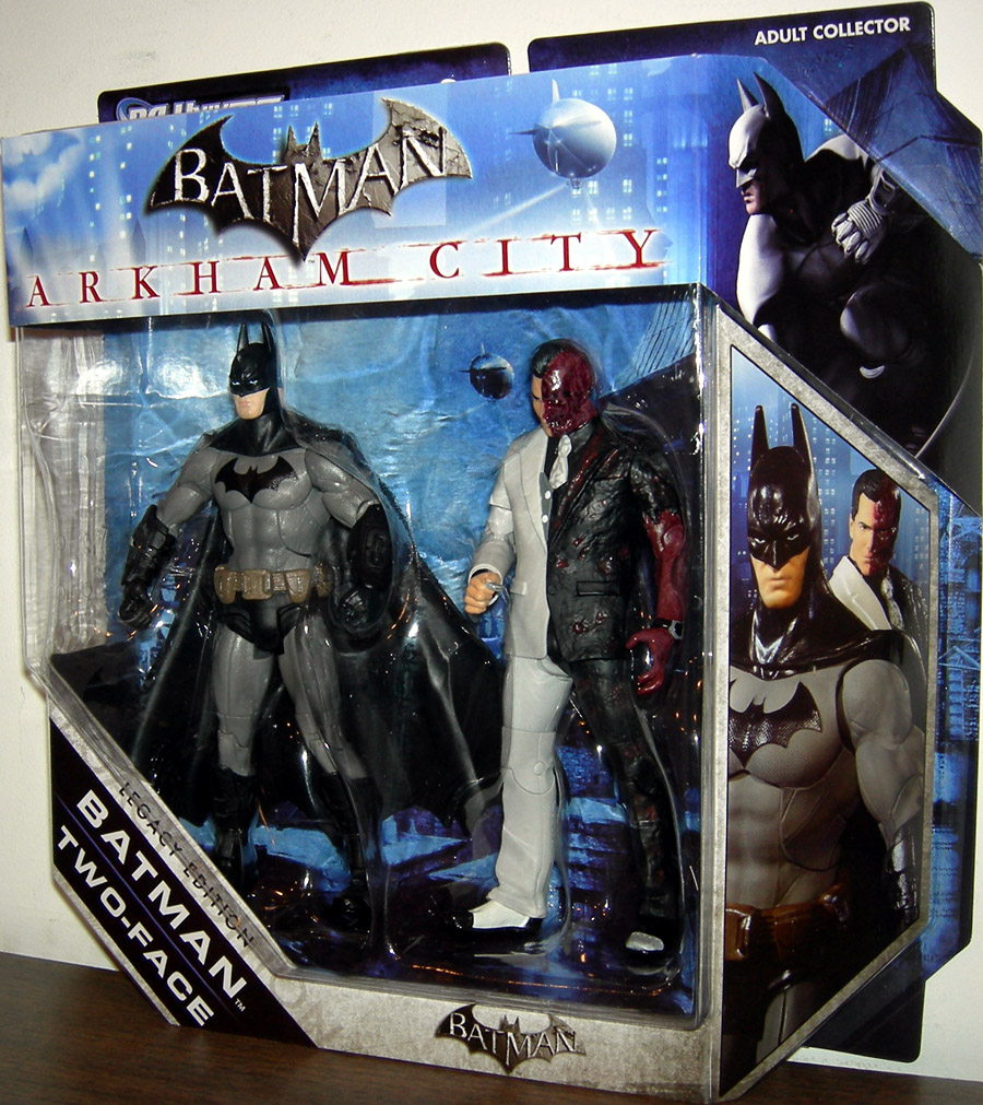 Batman & Two-Face (DC Universe, Legacy Edition, Arkham City)