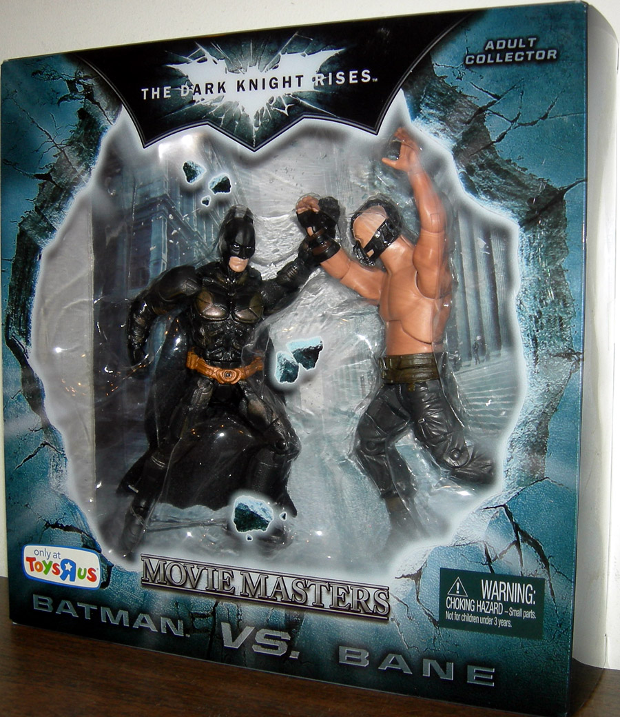 Batman vs Bane Movie Masters The Dark Knight Rises Toys R Us Exclusive