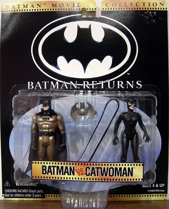 Batman vs. Catwoman (Batman Returns, Movie Collection)