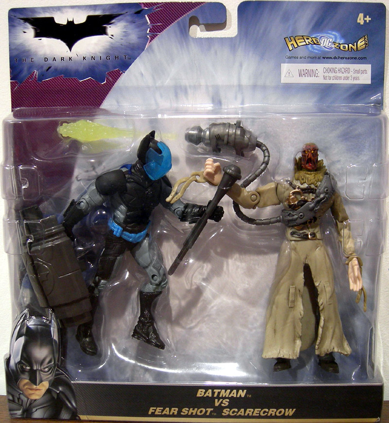 Batman vs. Fear Shot Scarecrow 2-Pack (The Dark Knight)