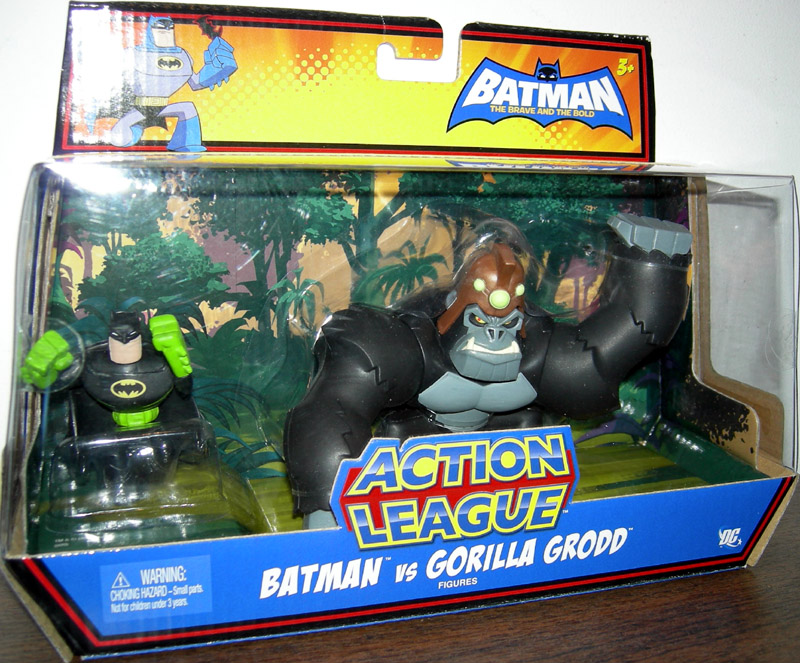 Batman vs. Gorilla Grodd (Action League)