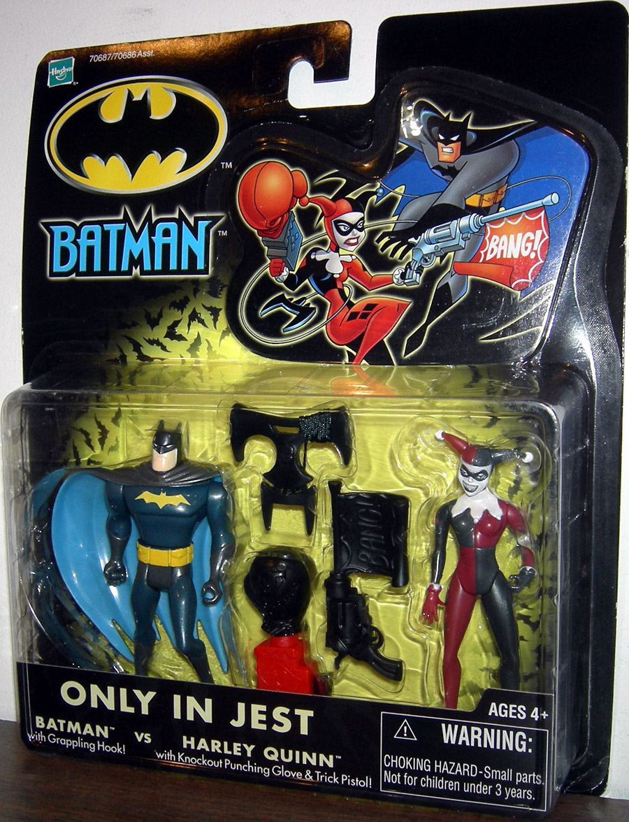 Only In Jest: Batman vs. Harley Quinn