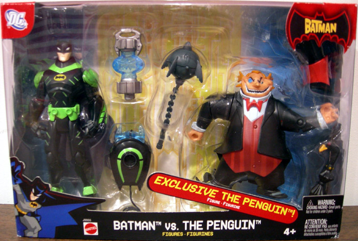 Batman vs. The Penguin (The Batman)