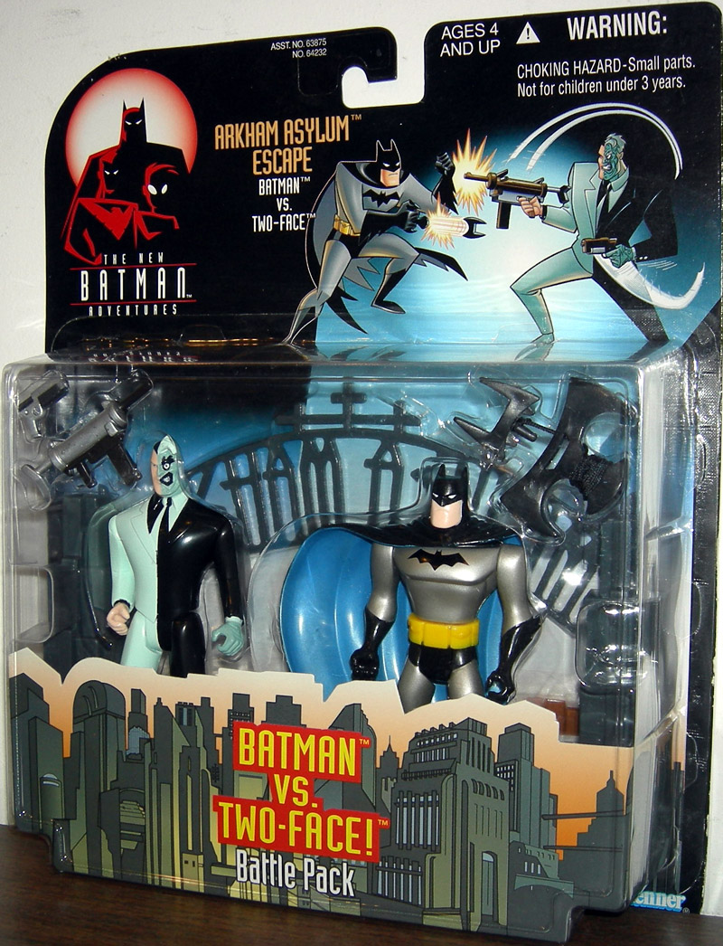 Arkham Asylum Escape Batman vs Two-Face (The New Batman Adventures)