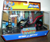 Batman with Batcycle (Action League)