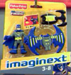Batman with glider backpack and grappling hook (Imaginext)