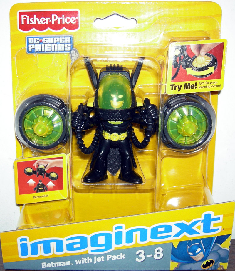 Batman with Jet Pack (Imaginext)