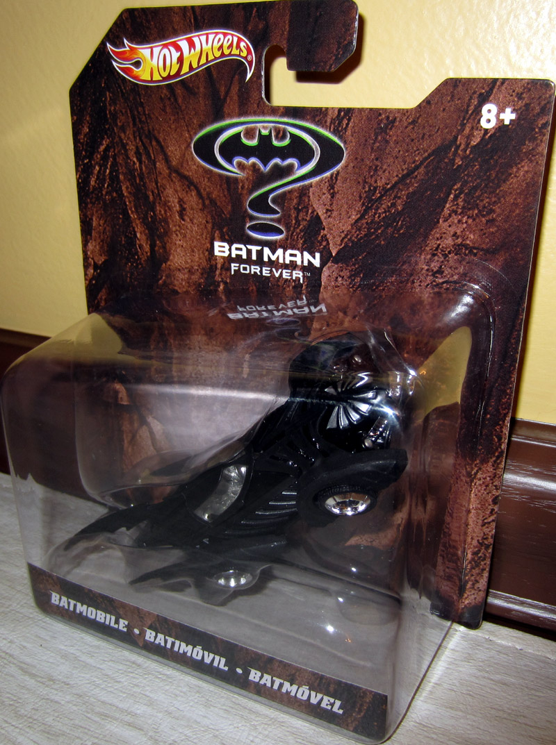 Batmobile (Batman Forever, 1:50th scale)