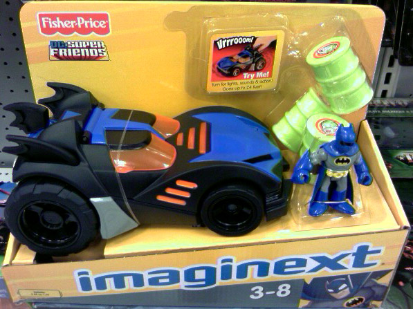Batmobile (Imaginext)
