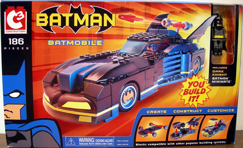 Batmobile (C3 Dark Knight Batman Minimate)