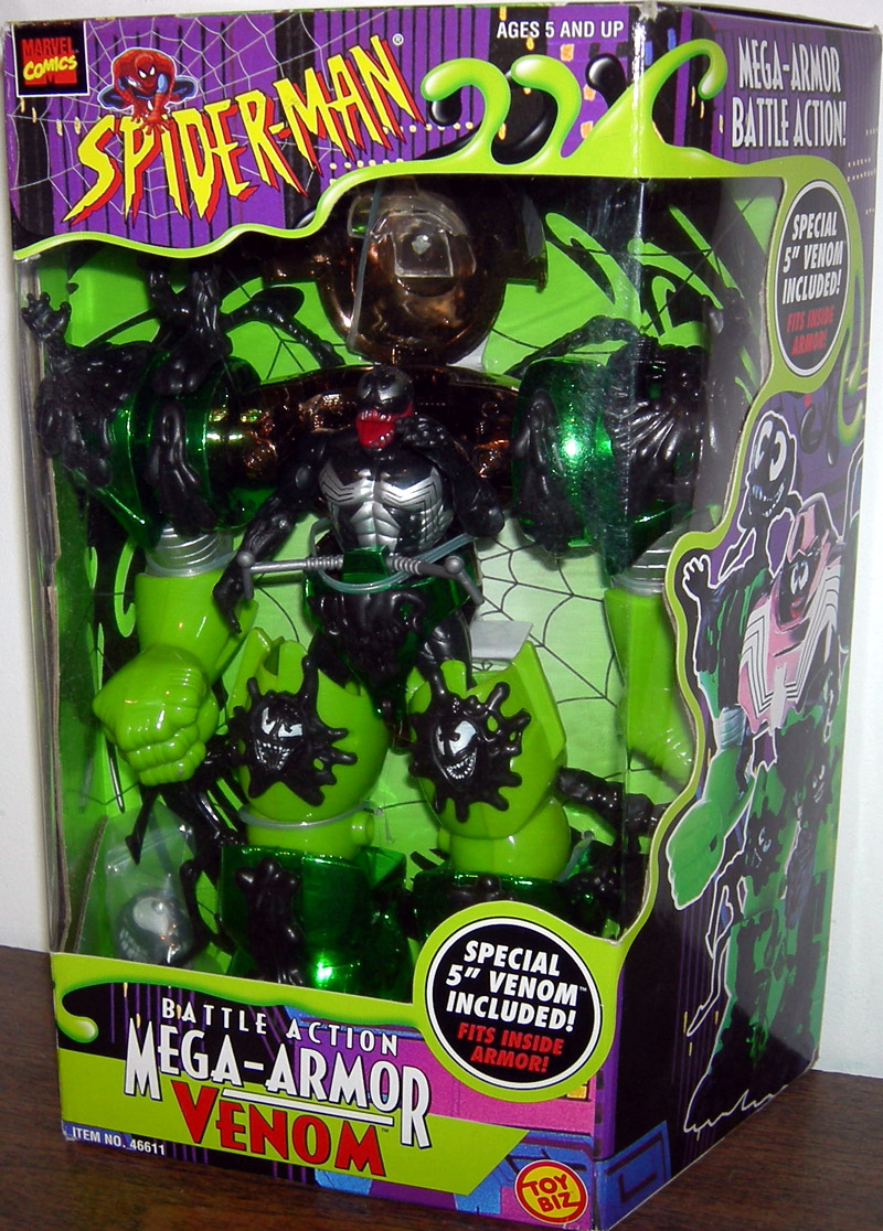 Battle Action Mega-Armor Venom